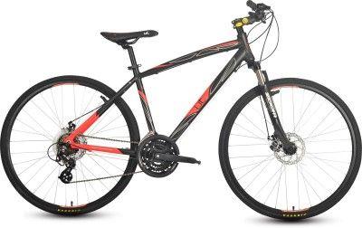 Hero Ut H2d 26inch 21 Speed 200064 Road Cycle Black Red