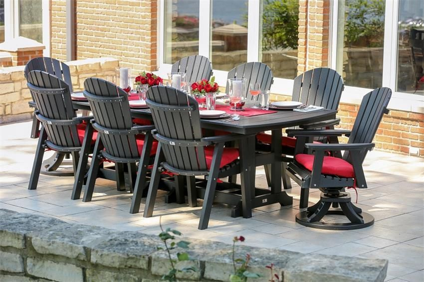 Berlin Gardens 44 X 96 Classic Outdoor Dining Table Best