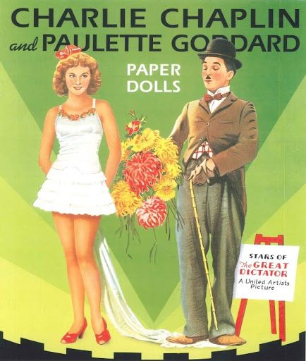 CHAPLIN *** Paper dolls for Pinterest friends, 1500 free paper dolls at Arielle Gabriel's International Paper Doll Society, writer The Goddess of Mercy & The Dept of Miracles, publisher QuanYin5