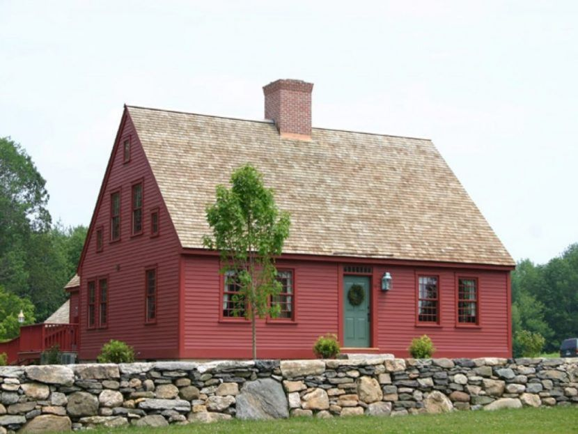 Saltbox Cape Cod House Plans Luxury New England Style House Plans Colonial Saltbox Small Beach H Colonial House Plans New England Farmhouse New England Homes