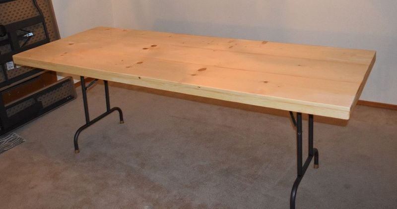 Do It Yourself Home Design: Do THIS To Any Folding Table And Save $3000 On A Stunning