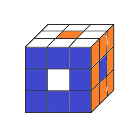 Игры с кубиком Рубика: 6 простых узоров