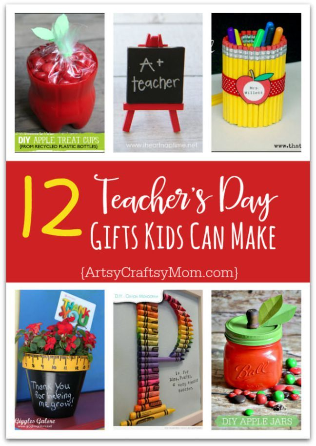 12 Useful Crafts For Teachers Day that Kids Can Make ...