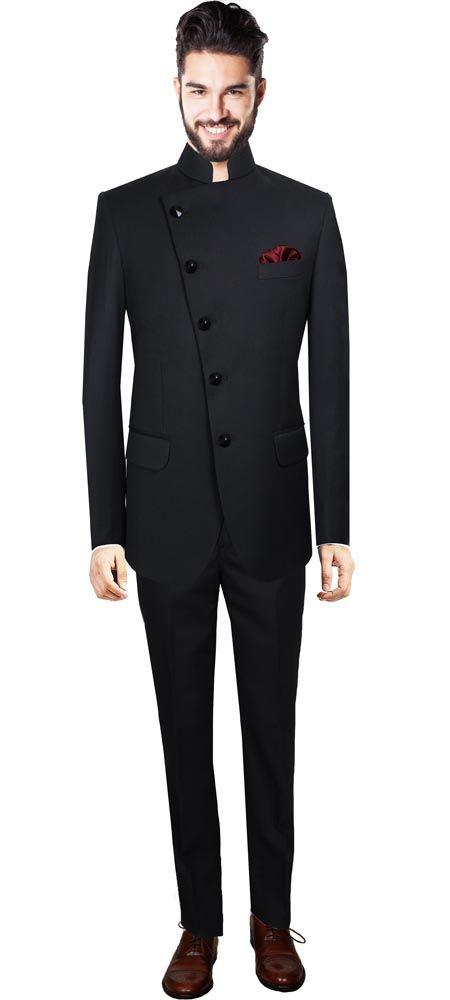 Nehru Suit For Men Onlineblack Custom Suits For Men Aurah05 In
