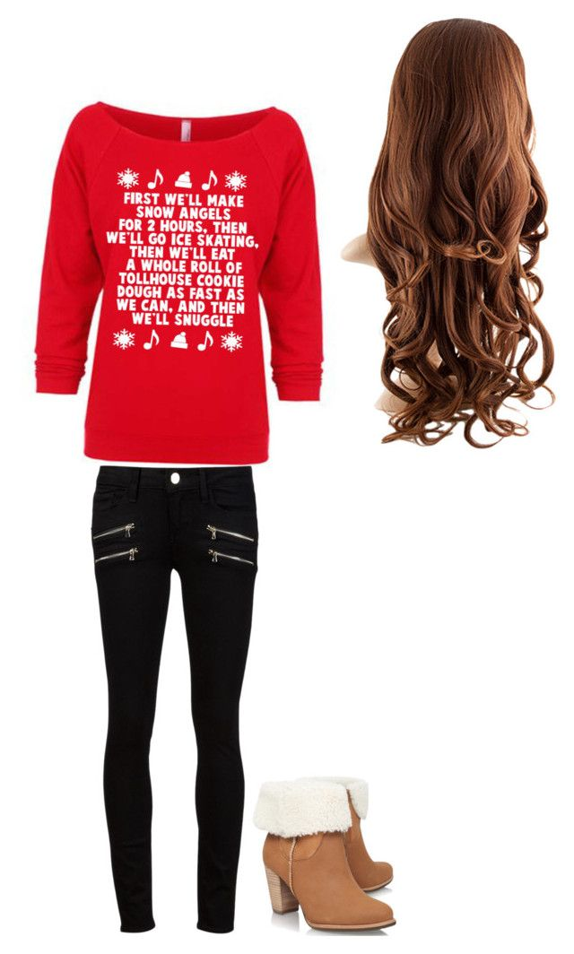 """ELF STYLE"" by lammasxxx ❤ liked on Polyvore featuring Paige Denim and UGG Australia"