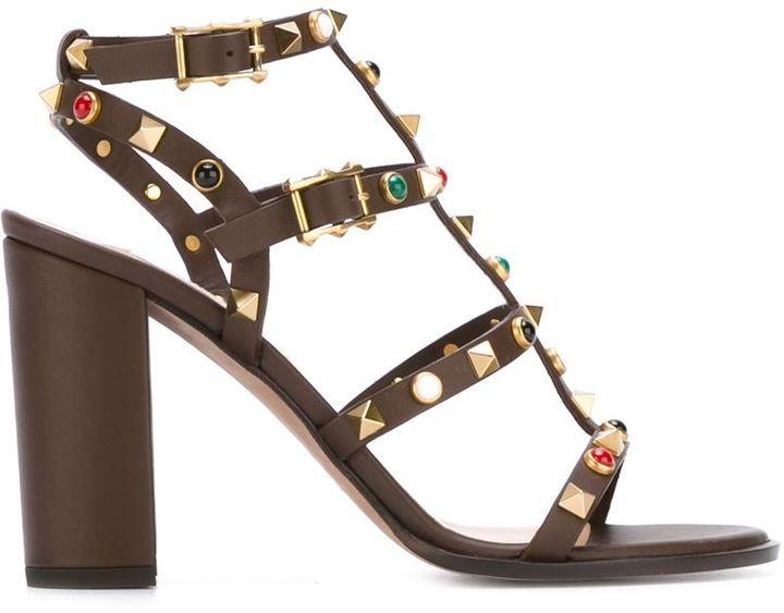 Valentino Garavani 'Rockstud Rolling' sandals