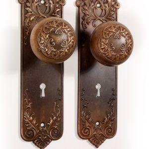 Reproduction Antique Glass Door Knobs