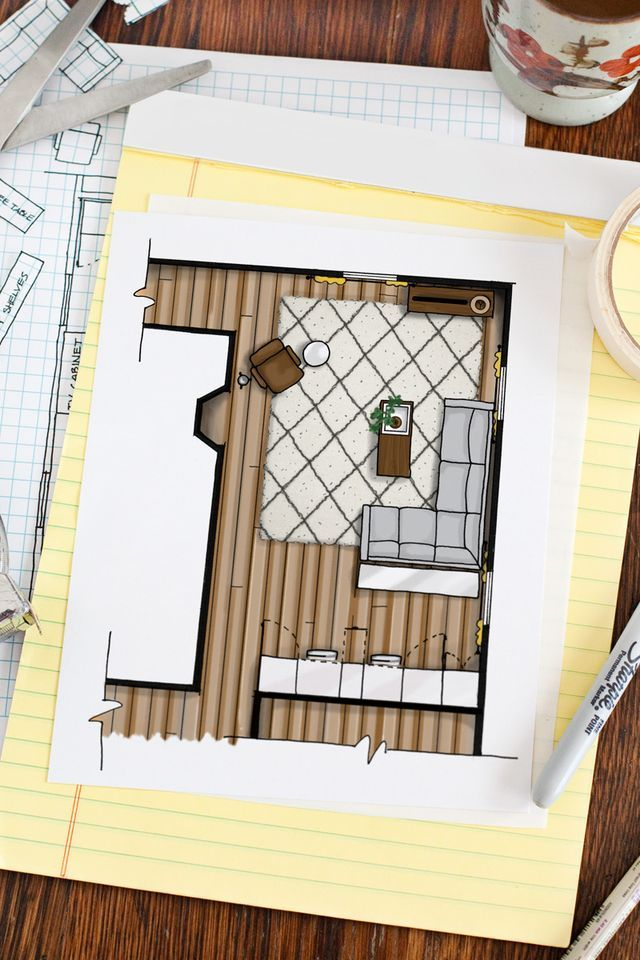 How to Draw a Floor Plan (A Beautiful Mess) Bedrooms, Spaces and - fresh blueprint maker website