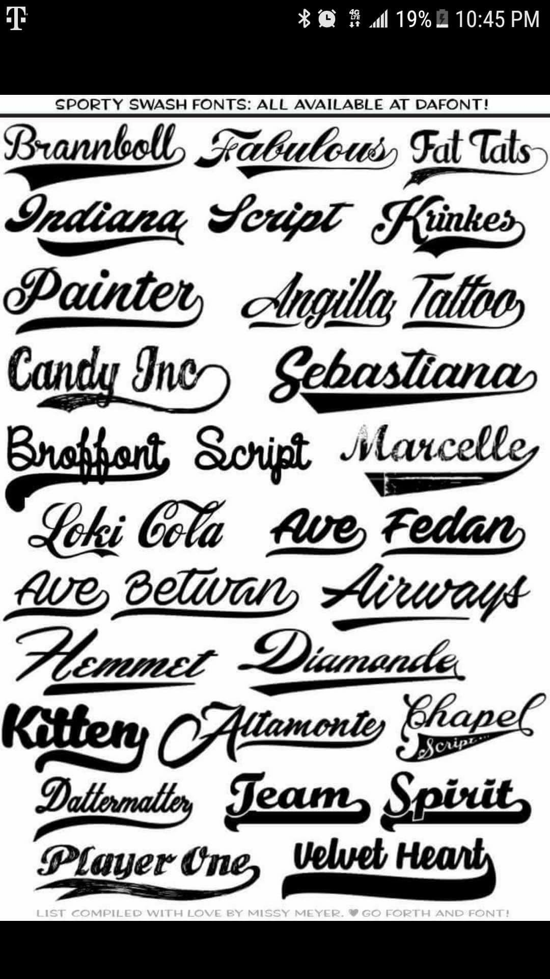 Uniform Fonts Number Baseball