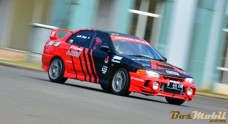Modifikasi Mitsubishi Lancer Evolution IV : Try The New