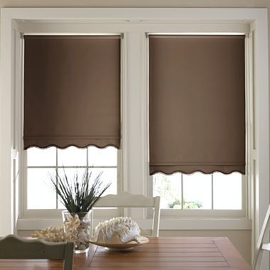 Savannah Cut To Width Fringed Thermal Roller Shade