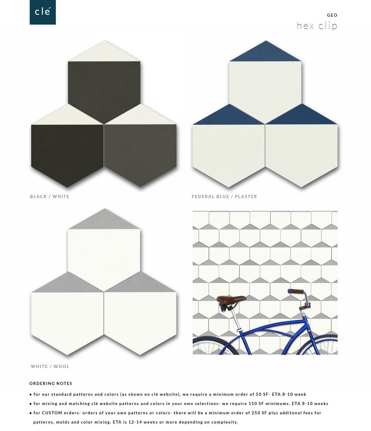 Hex clip 8 hex cement geo and master bath tile hex clip 8 hex dailygadgetfo Images