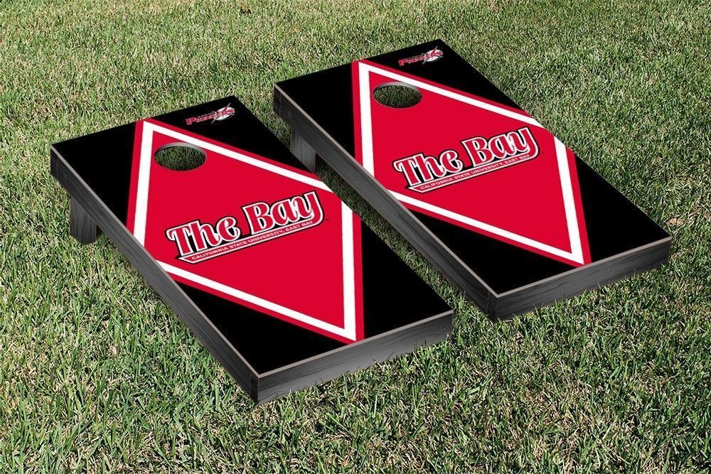 Cal State East Bay Pioneers Diamond Cornhole Bag Toss Game