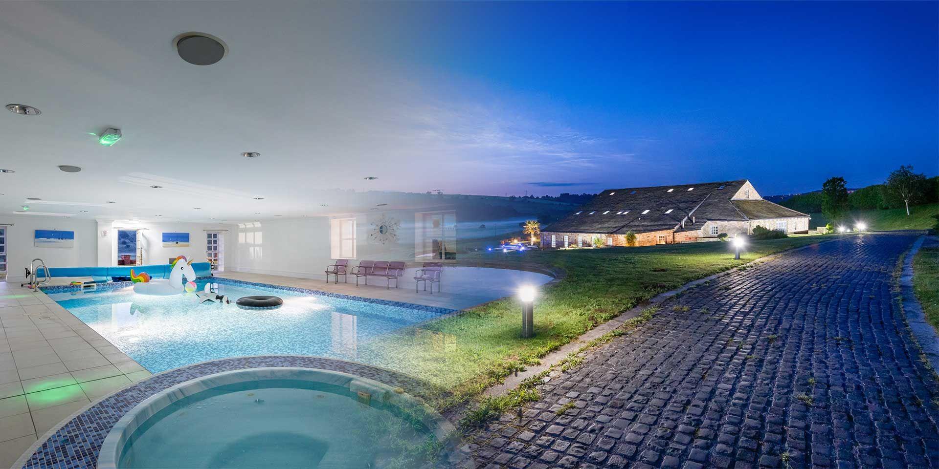 Newpoolpartybarntitle pool hot tub outdoor indoor