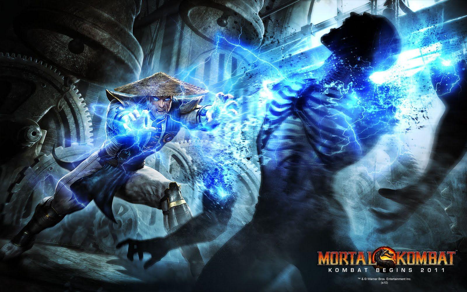 street fighter vs mortal kombat wallpaper