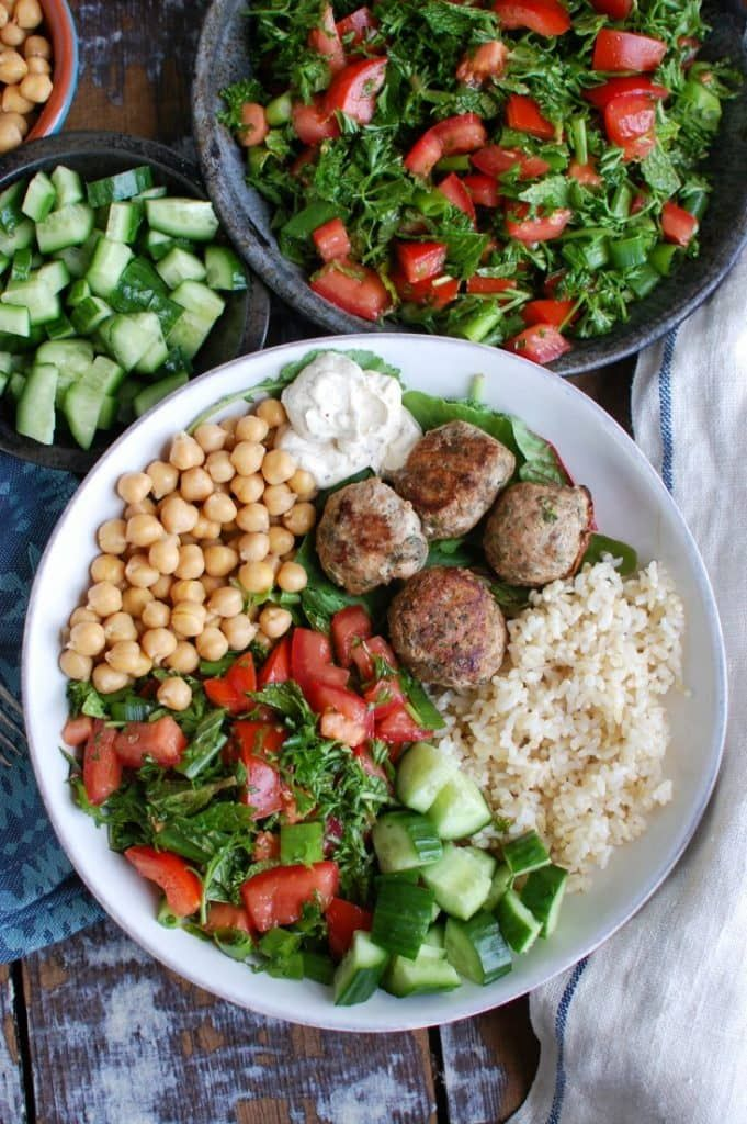 Photo of Mediterranean Baked Turkey Meatballs – A Cedar Spoon