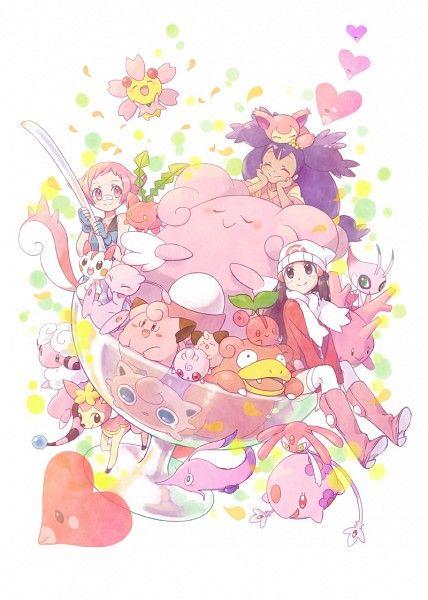 AHHHH!! It's pink!! TOO MUCH PIIIIIINK!!! Ah well it's cute so whatevs