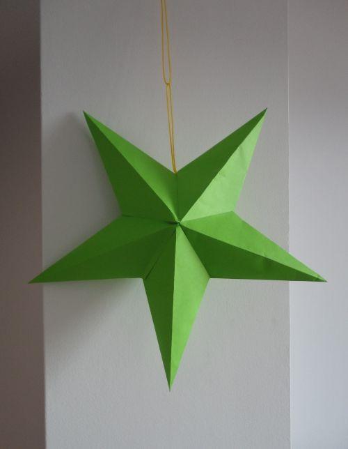 Dise a una l mpara de estrella de papel paper crafts - Origami de una estrella ...