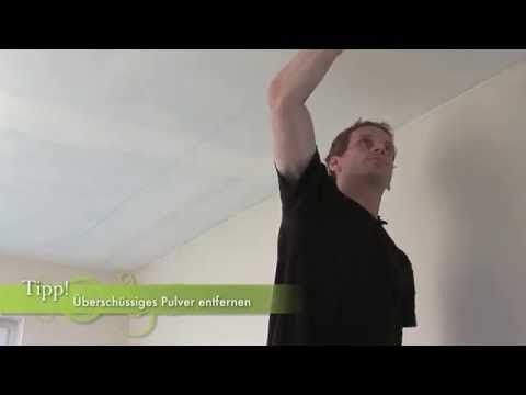 Richtig Tapezieren   Dachschräge Und Decken (7/7) [HQ]   YouTube