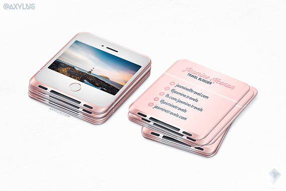 Rose Gold IPhone Mini Cards