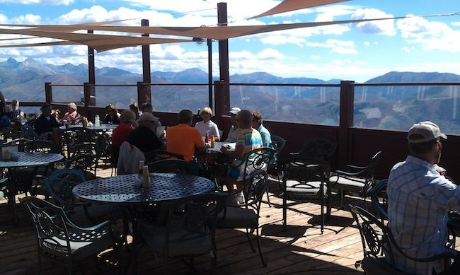 The View Is Unbeatable From The Roundhouse Deck    And The Barbecue Lunch  Lives Up · Sun ValleyThe ...