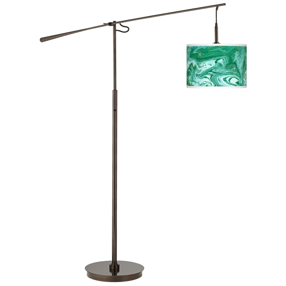 Malachite giclee glow bronze balance arm floor lamp style y4975 malachite giclee glow bronze balance arm floor lamp style y4975 1y531 aloadofball Images
