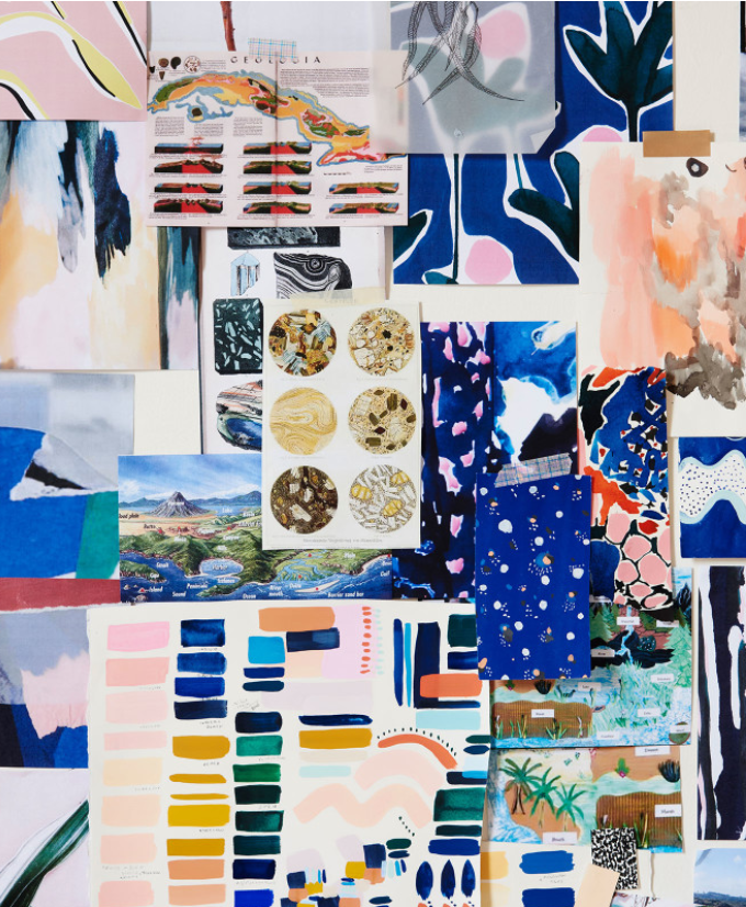 9 Inspiring Mood Board Examples | Cassie, Mood boards and ...