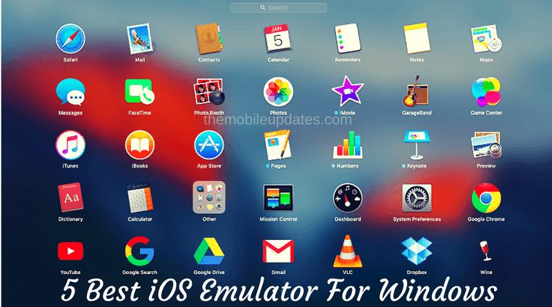 5 Best ios Emulator for Windows pc | Tips&tricks | App, Mac pc, Windows