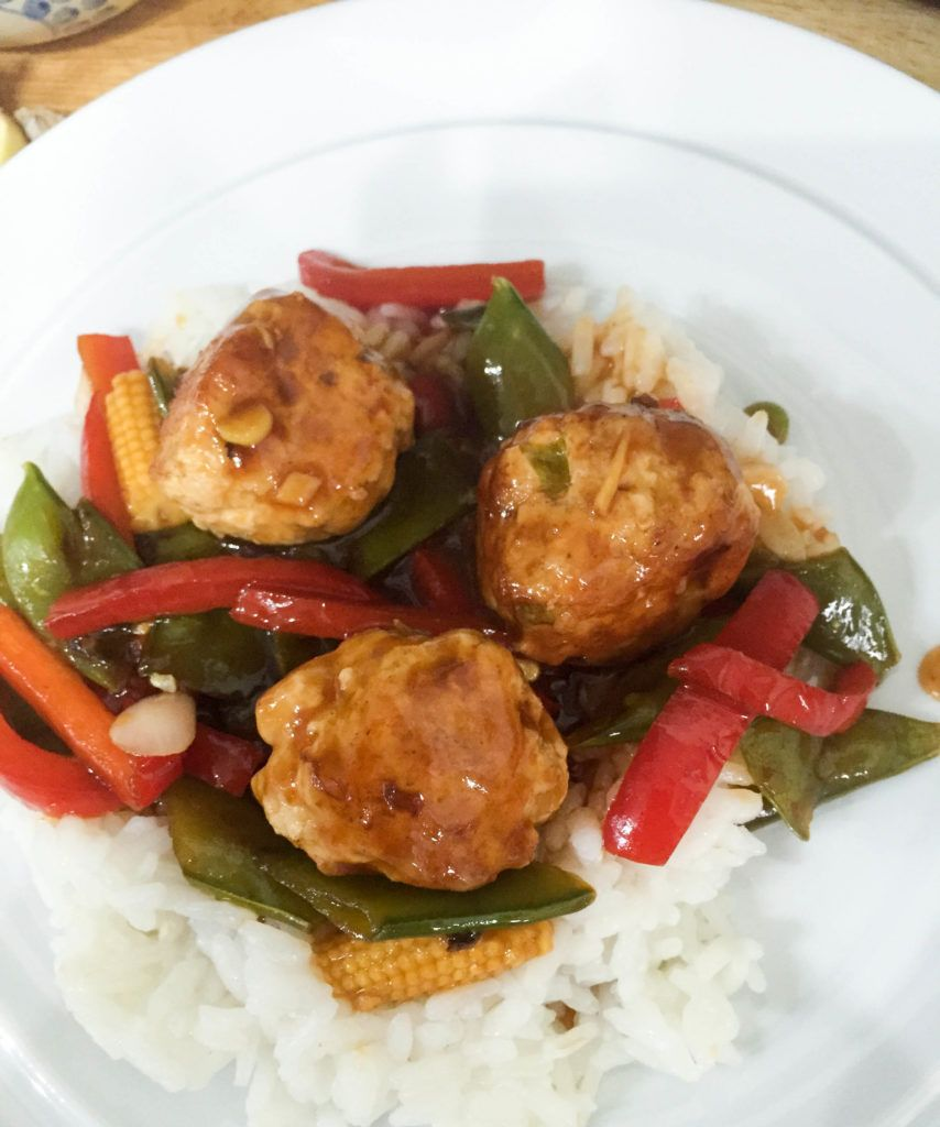 Low Calorie Sweet and Sour Turkey Meatballs | Turkey ...