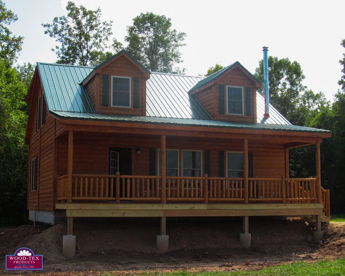 Ordinaire The Lanier U2013 Prefab Cabins And Modular Log Homes   Wood Tex Products