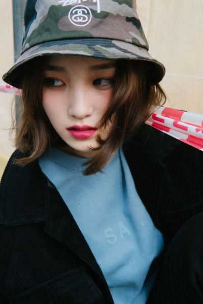 2030870be Stussy bucket hat. Short hair   Asian(Korean) Fashion   Stussy ...