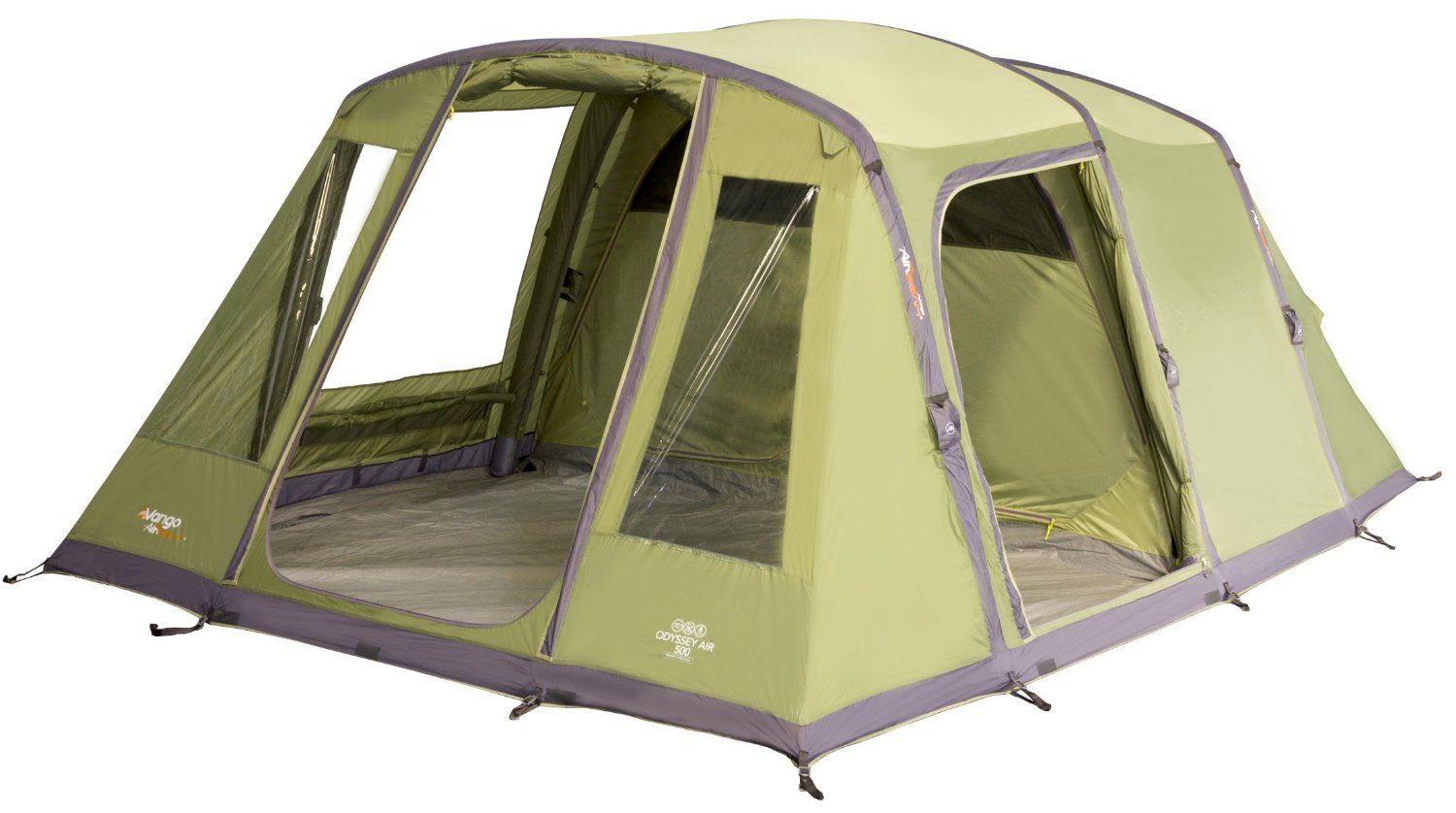Vango Odyssey Air Beam 500 Inflatable Tunnel Tent 5 Persons - Epsom Green Amazon  sc 1 st  Pinterest : inflatable tunnel tent - memphite.com