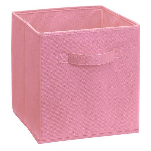 Closetmaid Pink Fabric Drawer Walmart Com Fabric Drawers Closetmaid Girls Room Storage