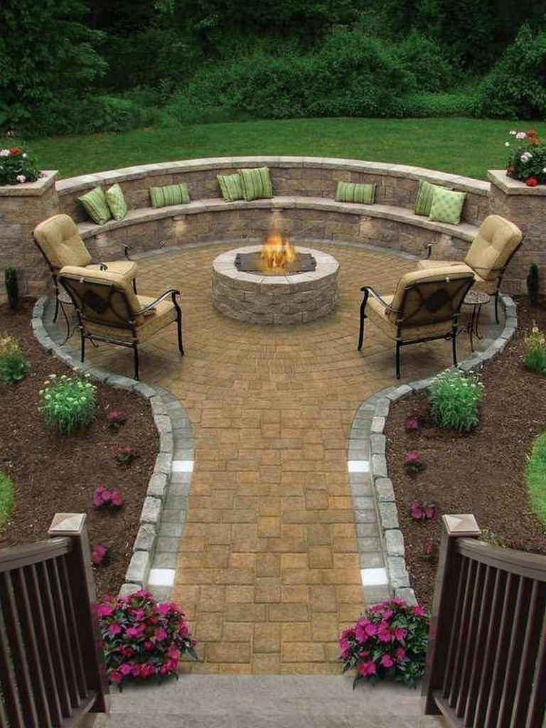 BackyardPatio Designs On A Budget Paver Patio Pictures