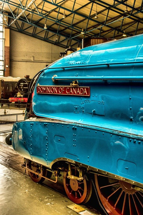 A4 Locomotive Dominion Of Canada National Railway Museum York Steam Trains Train Engines National Railway Museum