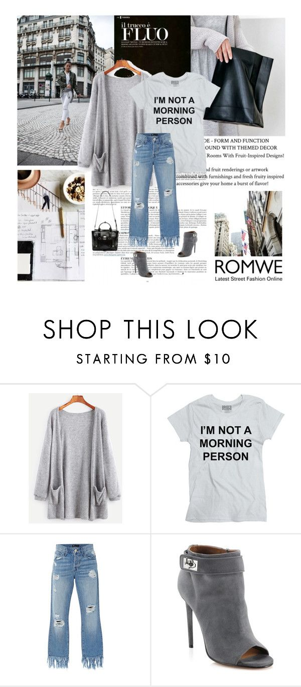 """08/12/2016 Romwe"" by dunoni ❤ liked on Polyvore featuring Anja, 3x1, Givenchy and 3.1 Phillip Lim"
