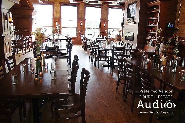 The Beautiful Upstairs Dining Room At Revolution Brewing Can Seat 100 Wedding Guests Or More