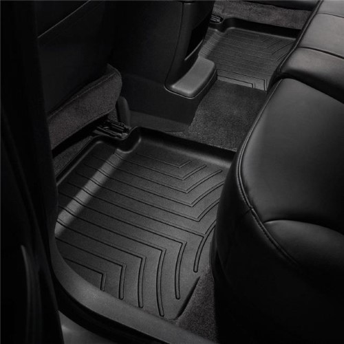 Weathertech 4412382 2nd Row Rear Auto Floor Mats Black For 2018