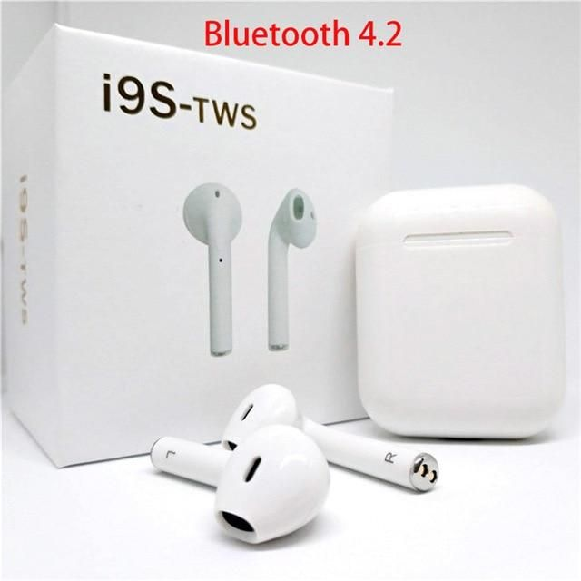c8c07e4a31d i10 TWS Bluetooth 5.0 Earbuds i9s TWS Wireless Earphones Support Touch  Control Wireless Charging Binaural Calling