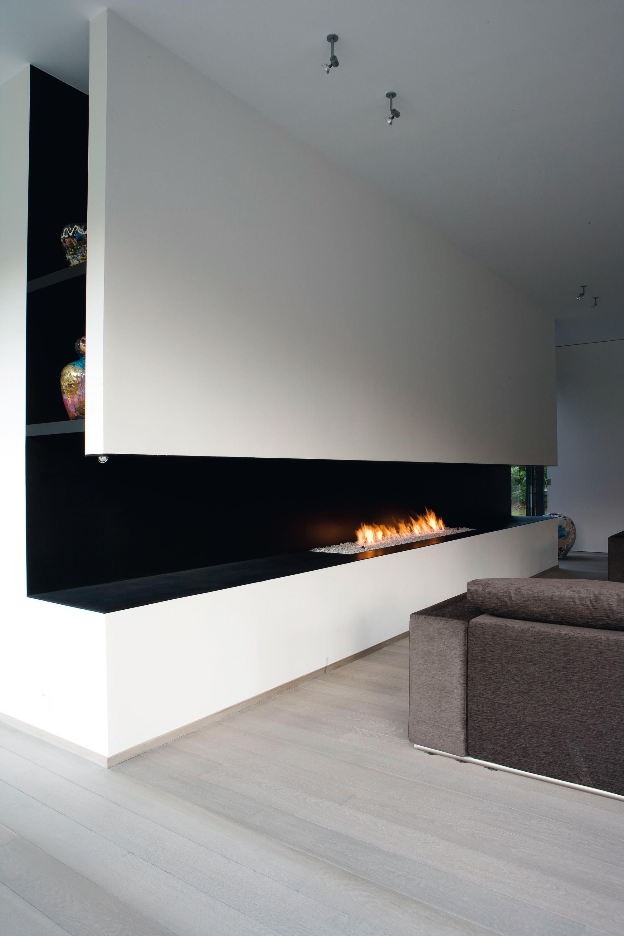 Design And Technology Metalfireu0027s Gas Burning Open Fireplaces Bring A  Minimalistic Design Fitted With An Intelligent Protection. They Couple Taut.