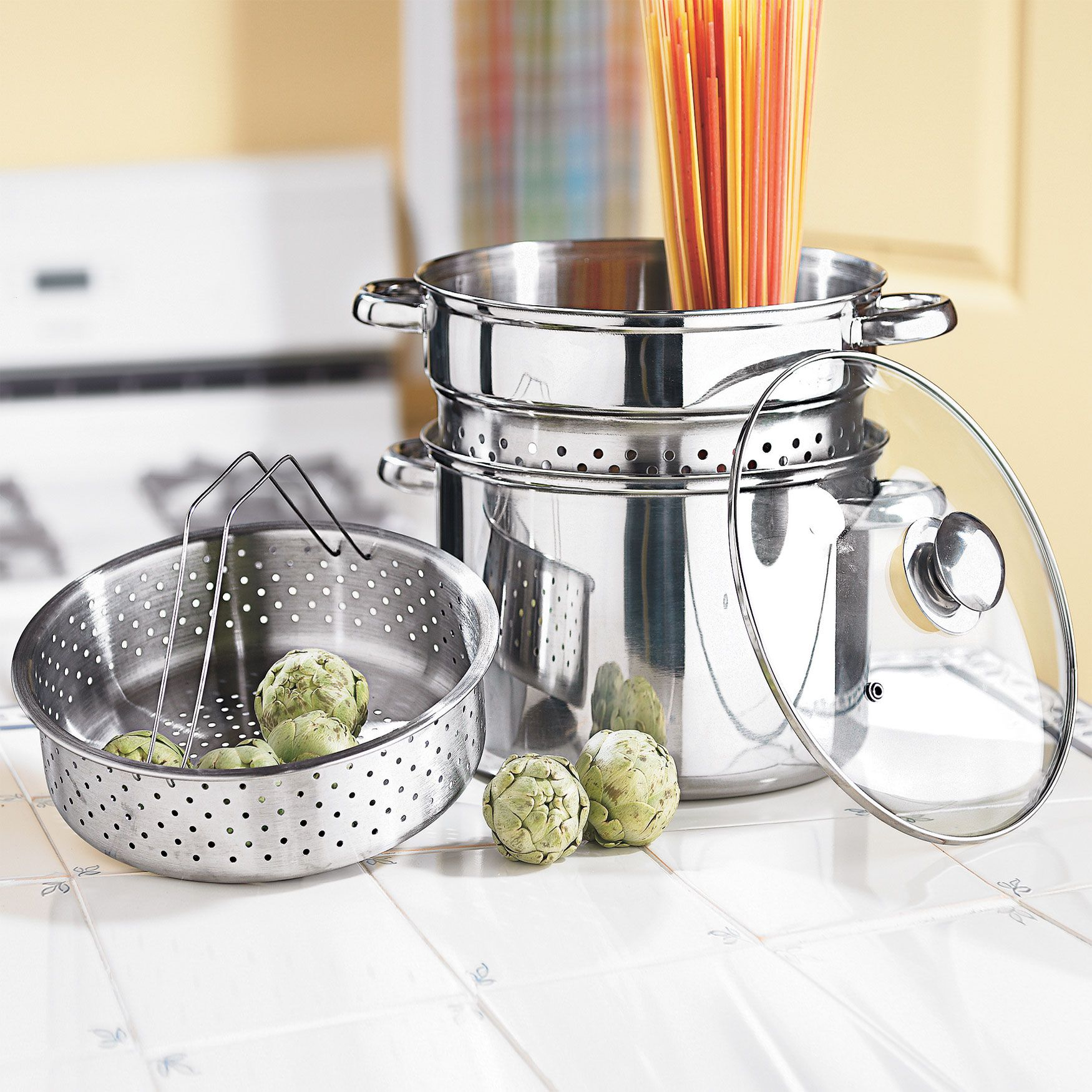 Versatile 4IN1 Stainless Steel Pot Stainless steel pot