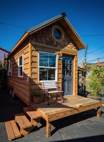 170 Sq. Ft. Kangablue Tiny House | Tiny houses, Tiny house hotel and ...