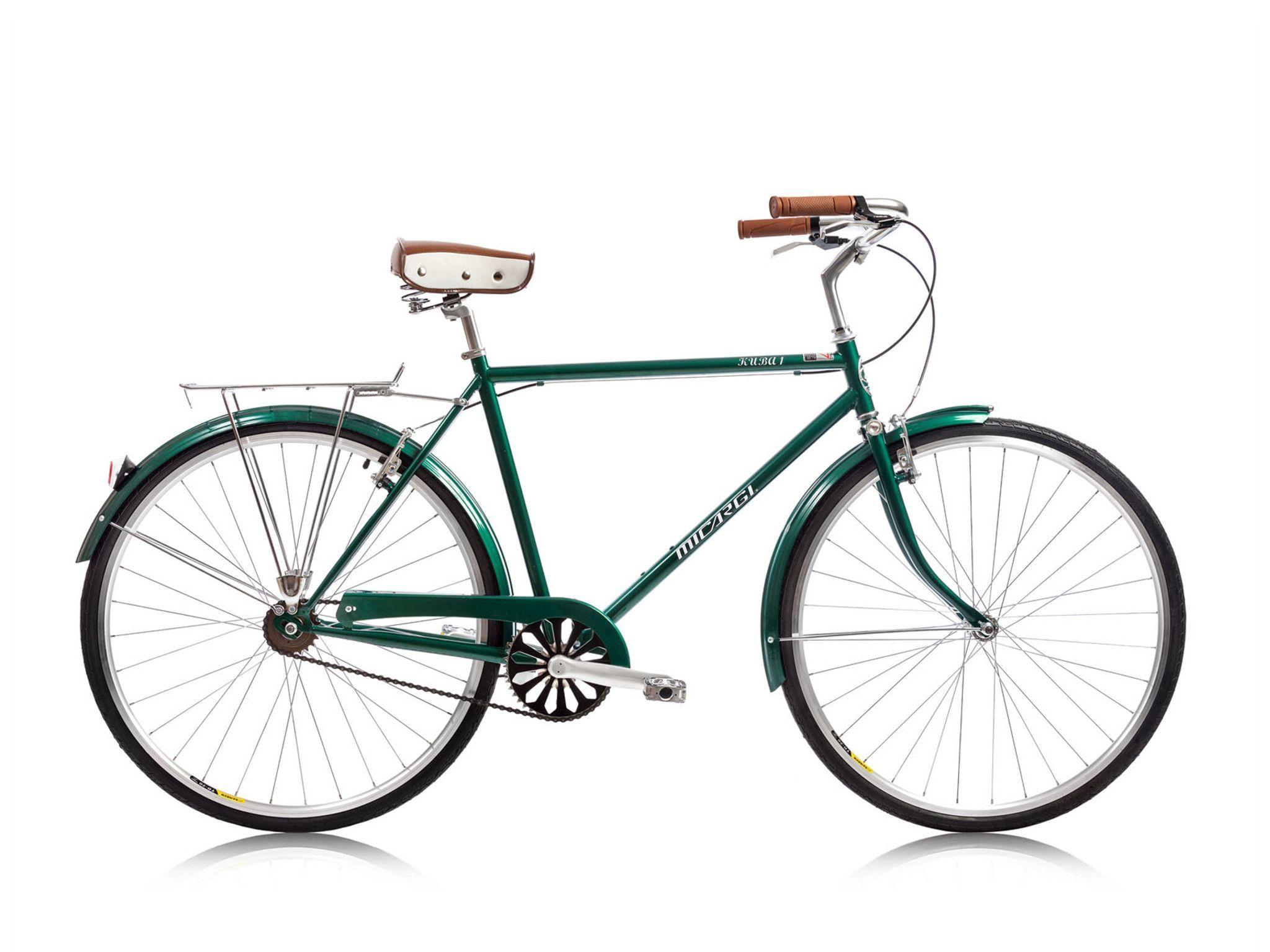 Micargi kuba 1 single speed city commuter bike dark green vintage eur