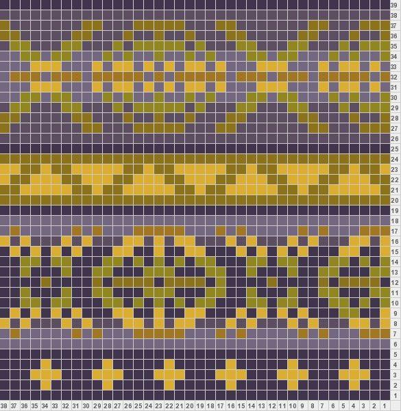 Fair isle knitting charts from @Amanda Snelson Ashley Knitter.com ...