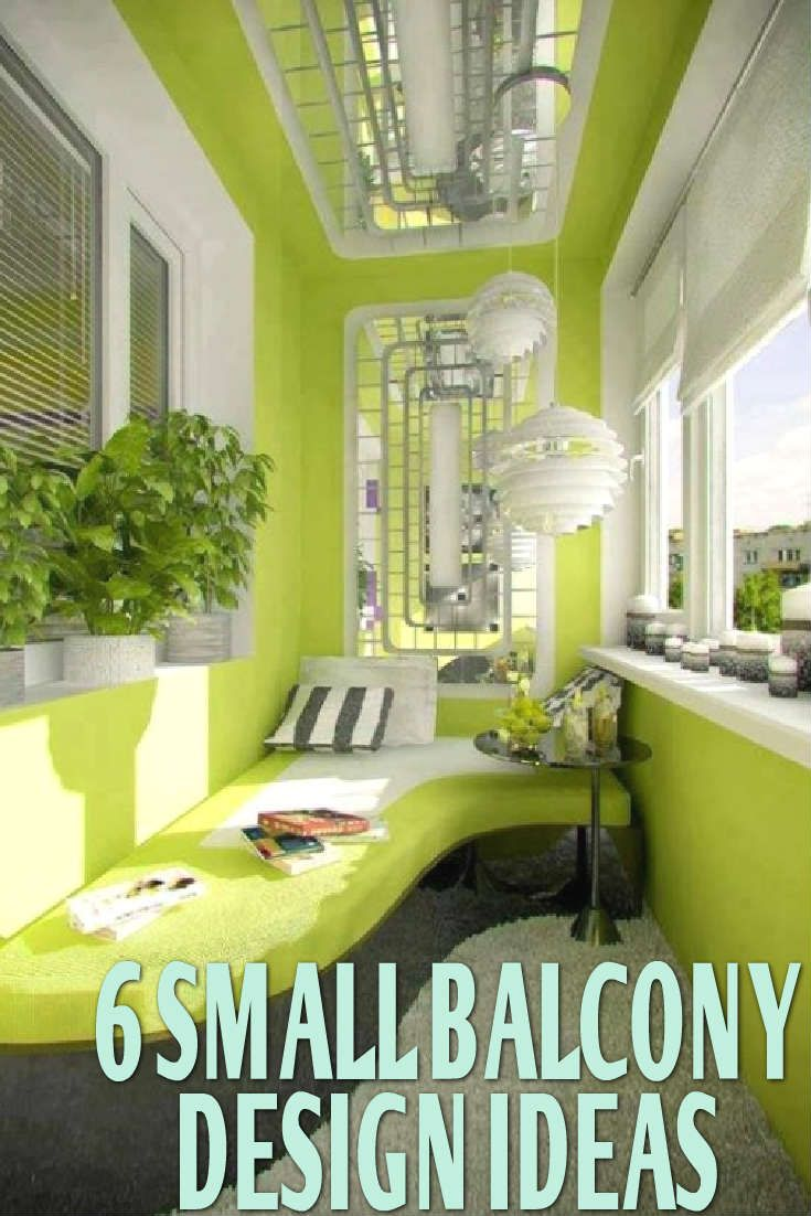 6 Small Balcony Design Ideas   Outdoor spaces, Balconies and Outdoors