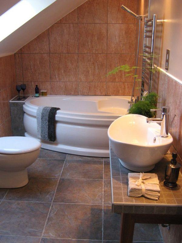 elektrische-eckbadewanne - moderne badezimmer gestaltung | bad