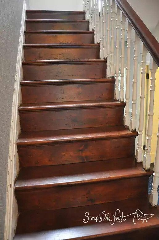 How To Re Sand And Oil A Victorian Wooden Staircase Wood Stair Stairs Plank Original Repair Refinish