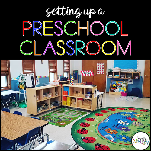 Preschool Writing Center — Lovely Commotion Preschool Activities , Games and Resources #preschoolclassroomsetup