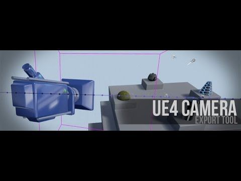 Download Unreal Engine Camera Animation Exporter v1 02 for 3ds Max