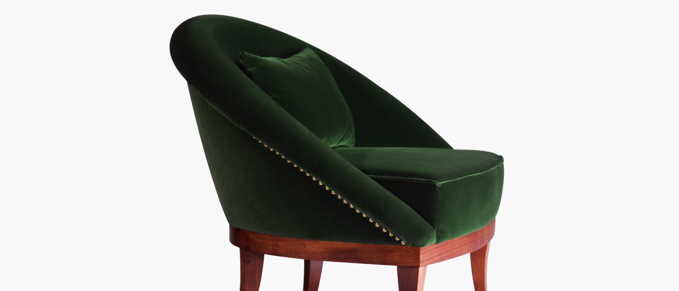 Kim Mid Century Modern Armchair By Mid Century Modern